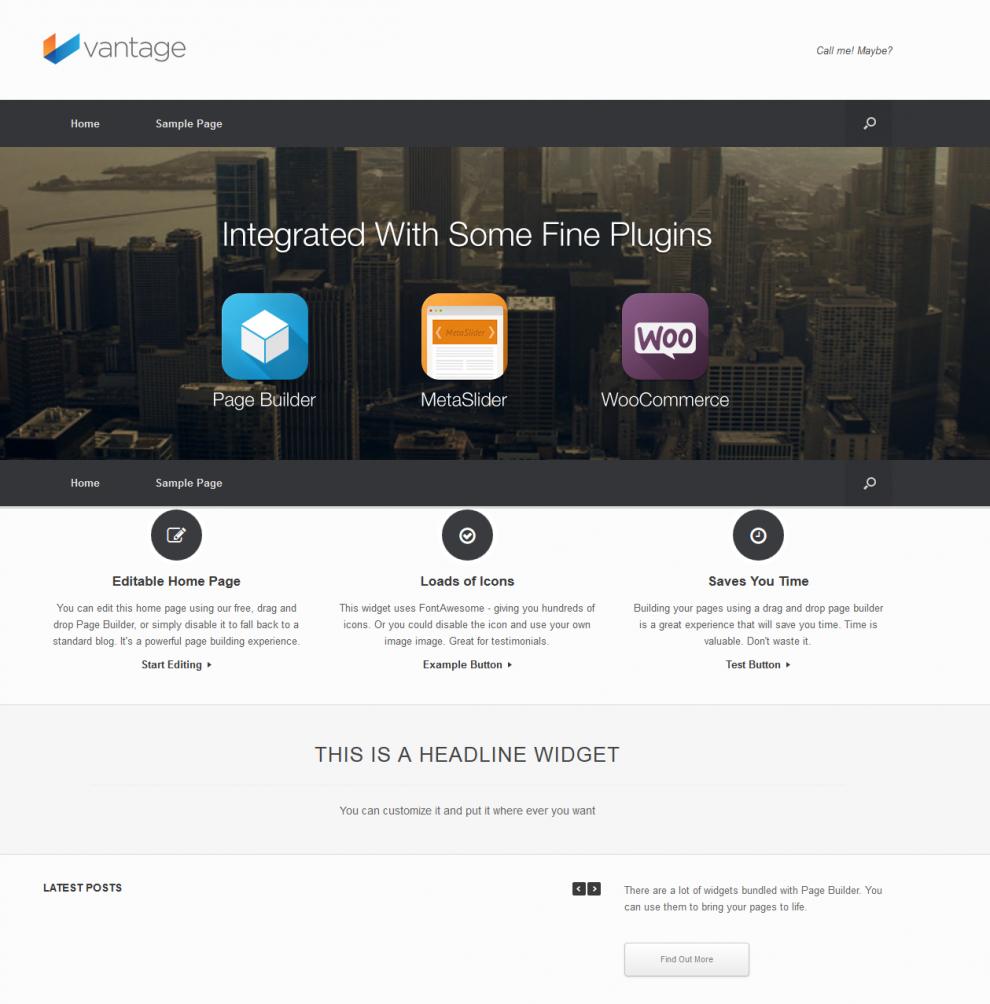 Membuat Website Direktori Bisnis Dengan Tema WordPress Vantage