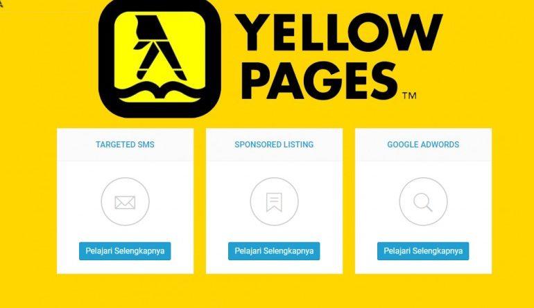 Yellow Pages Menghadirkan Aplikasi Bisnis Direktori